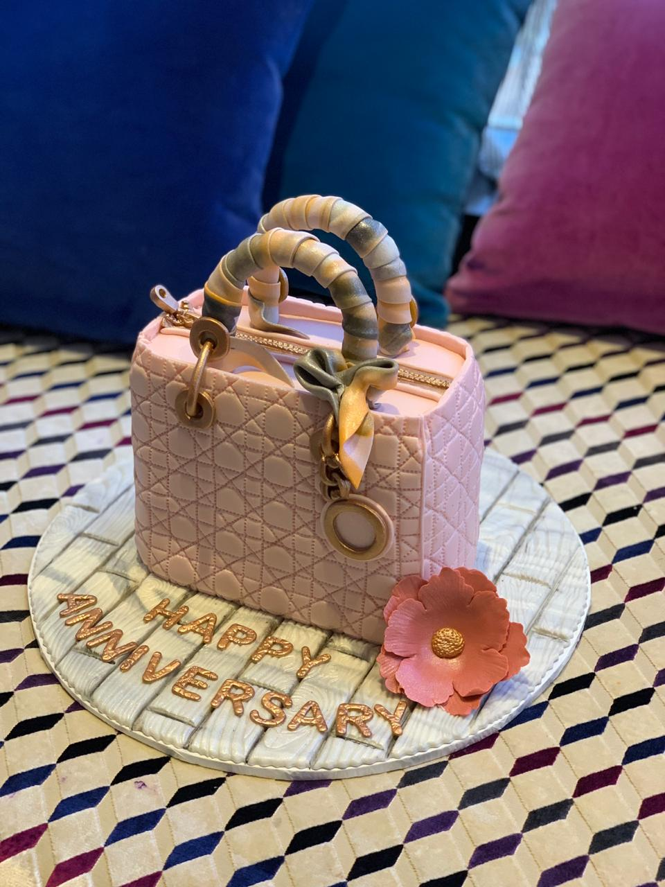 A special cake because your girl has been loving Dior lately