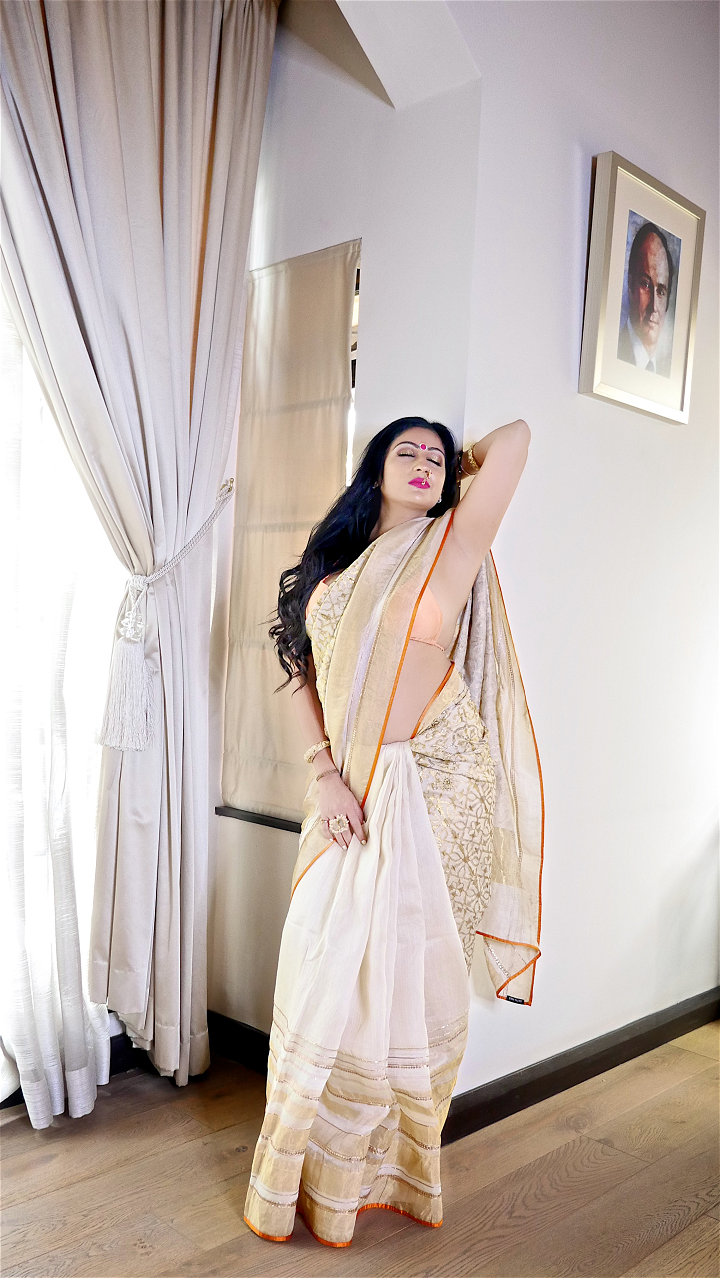 Sonal Saree Lookbook 1