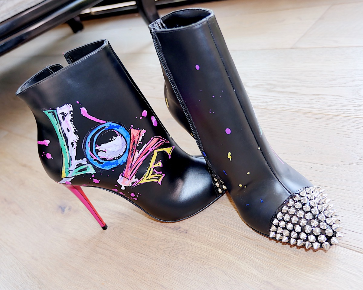 Shoes: Love is a boot by Christian Louboutin