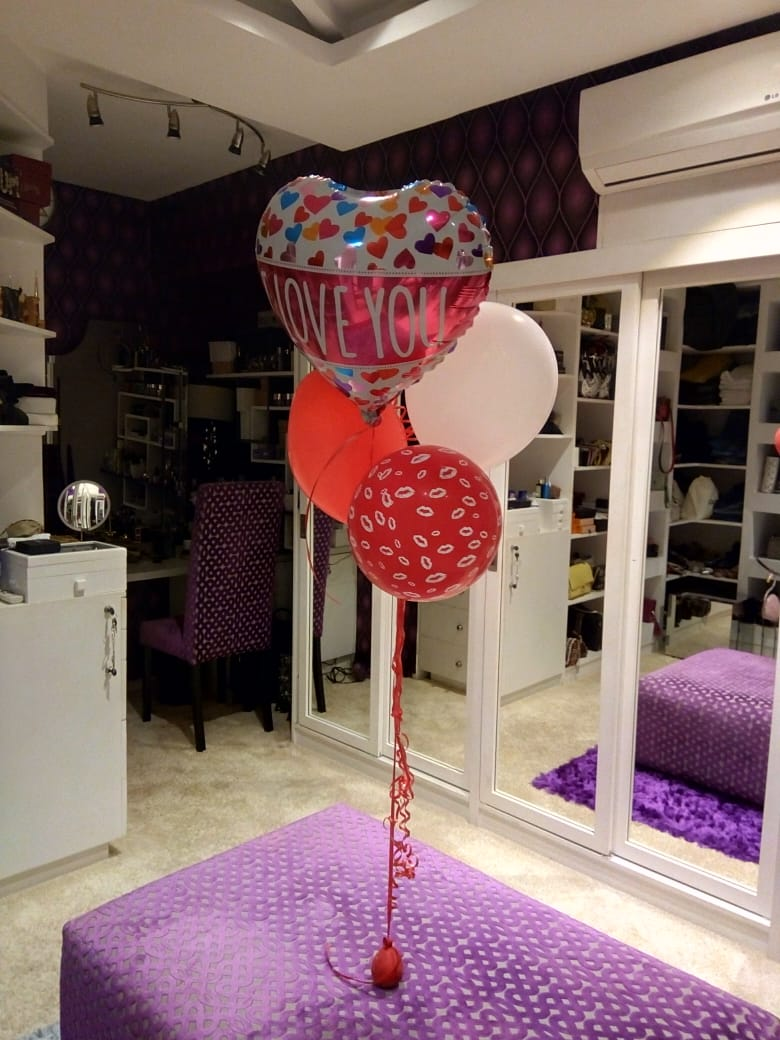 Some cute balloons in my closet that made me all teary.